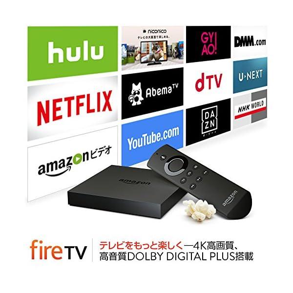 Amazon Fire TVの紹介画像2
