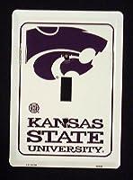 Kansas State University Collegiateメタルノベルティ単一ライトスイッチカバープレートls10135
