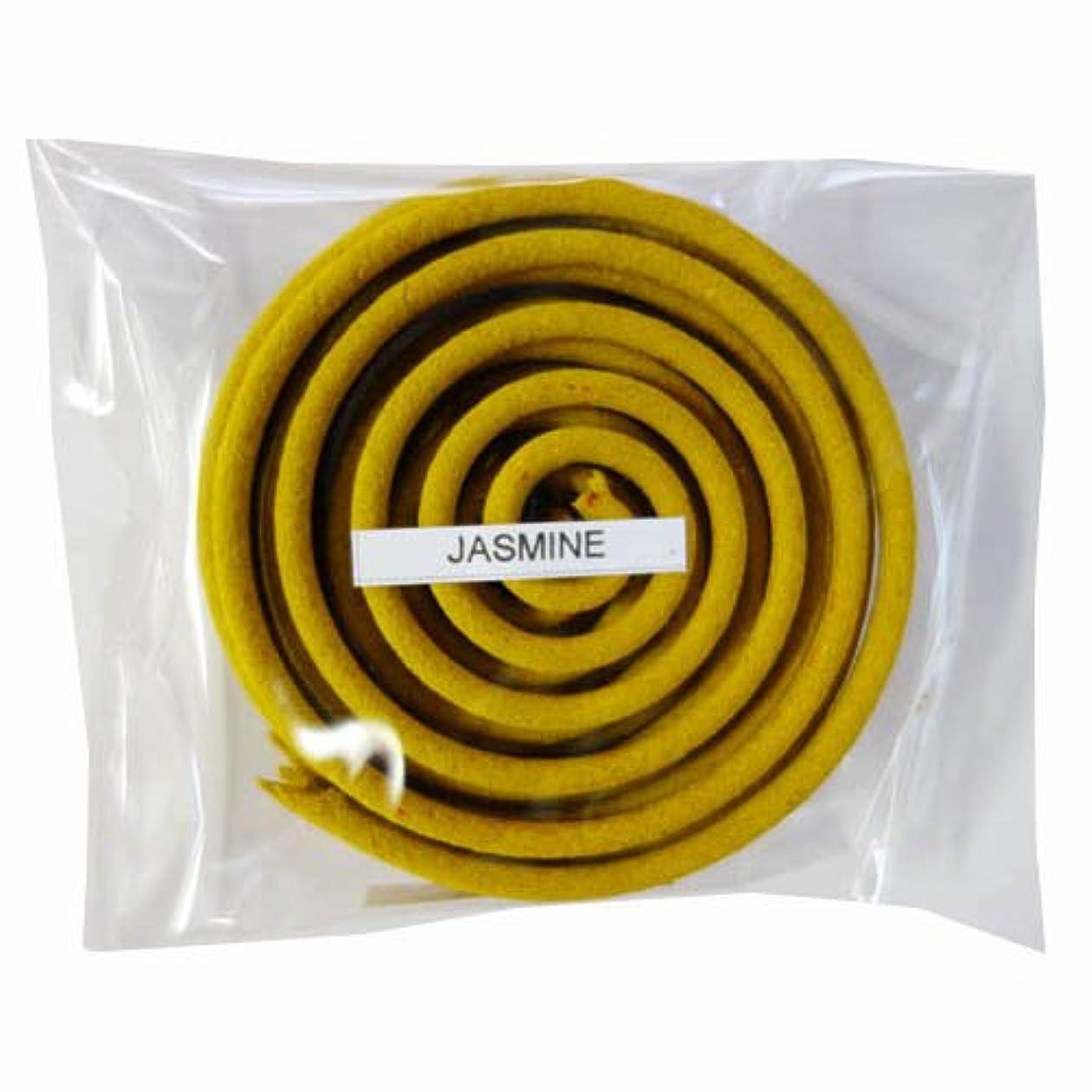 必要とするトランジスタデザイナーお香/うずまき香 JASMINE ジャスミン 直径6.5cm×5巻セット [並行輸入品]
