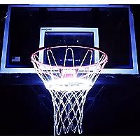 Light UpアクションBasketball Netマルチカラーワイヤレスバスケットボールゴール照明システム