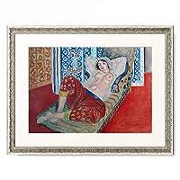 アンリ・マティス Henri Matisse 「Odalisque in red culottes. 1921.」 額装アート作品