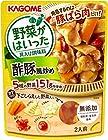 【大幅値下がり!】カゴメ 野菜がはいった具入り調味料 酢豚風炒め 170g ×5袋が激安特価!