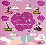 カプセルQミュージアム アイデアの素 capsule message figures vol.2 全8種セット ガチャガチャ