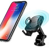 IFLYING ワイヤレス充電器QI自動感知 qi ワイヤレス充電器 iphone x 充電器 ワイヤレス iphone8 充電 高速充電