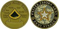 Armyプライベート1stクラスChallenge Coin