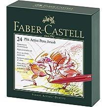 Faber-Castell Pitt Artist 24 Pens in Studio Box (54-167147)