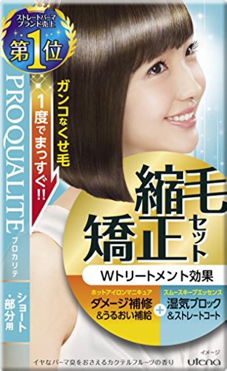 圧倒する赤面寛大なプロカリテ 縮毛矯正セット ショート