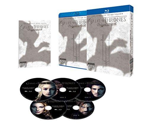 ゲーム・オブ・スローンズ 第三章: 戦乱の嵐-前編- ブルーレイ コンプリート・ボックス (5枚組) [Blu-ray]の詳細を見る