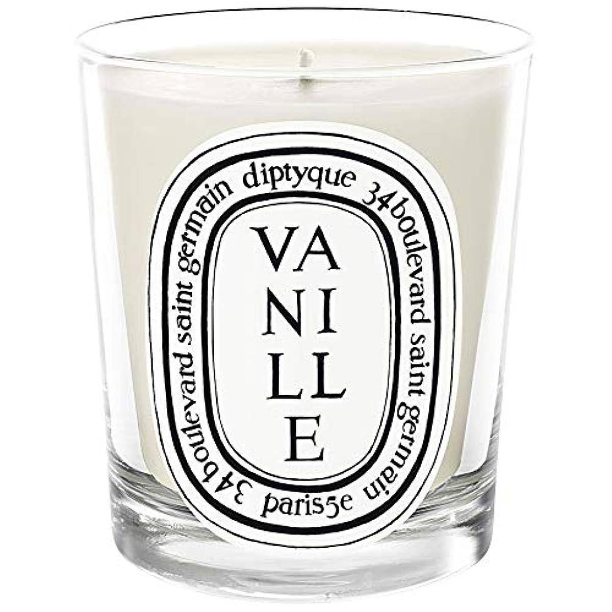 のぞき穴慈悲つかむ[Diptyque] Diptyqueのヴァニラの香りのキャンドル190グラム - Diptyque Vanille Scented Candle 190g [並行輸入品]