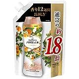 レノア ハピネス 香り付け専用ビーズ アロマジュエル アプリコット&ホワイトフローラルブーケの香り 詰め替え 約1.8倍(805mL)