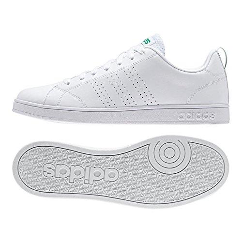アディダス(adidas) VALCLEAN2(ランニングホワイト/ランニングホワイト/グリーン) F99251
