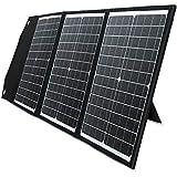PAXCESS ソーラーパネル 60W ソーラーチャージャー QC3.0 Type-C 急速充電 23%高変換効率 折りたたみ式 スマホ ポータブル電源 キャンプ アウトドア 地震 災害時ソーラー充電可能