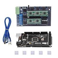 Baosity マイクロコントローラボード メガ 2560 R3マザーボード 斜面1.5拡張ボード  A4988ステッパードライバー
