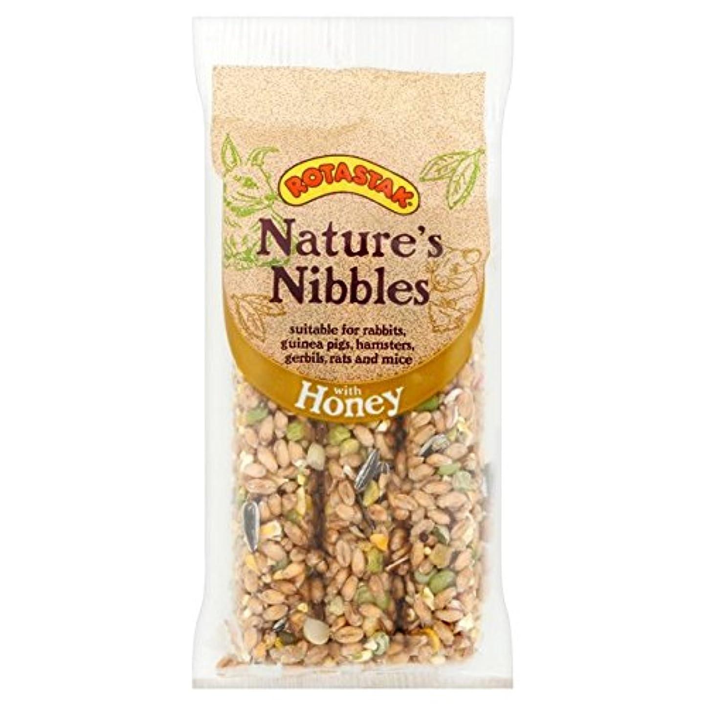 サンダルうなずく宿る[Rotastak] パックあたりRotastakハニーナッツスティック3 - Rotastak Honey Nut Sticks 3 per pack [並行輸入品]