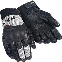 Cortech HDX 3大人用ストリートバイクオートバイ手袋–ブラック/シルバー L シルバー 8330-0307-06-HH