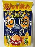 ノーベル製菓 お祭りサワーズグミ あんずあめ味45gx6