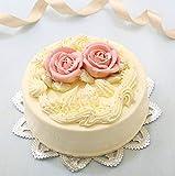 バタークリームケーキ 5号 昭和レトロ、 懐かし風味 誕生日ケーキ