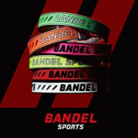 BANDEL SPORTS バンデルスポーツ【STRING BRACELET】ストリング ブレスレット【正規品】パワー加工・ジャパンテクノロジー (イエロー×グレー, S 16.0cm)