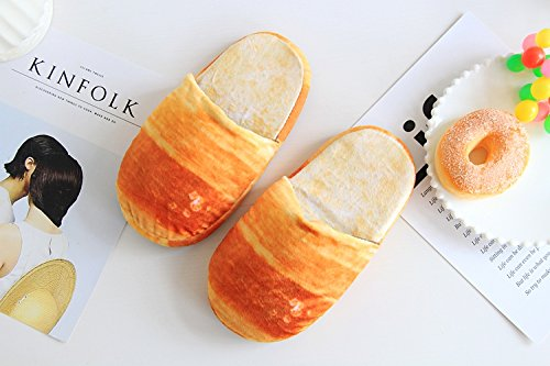 スリッパ パン リアル 食べたくなるスリッパ(ロールパン)