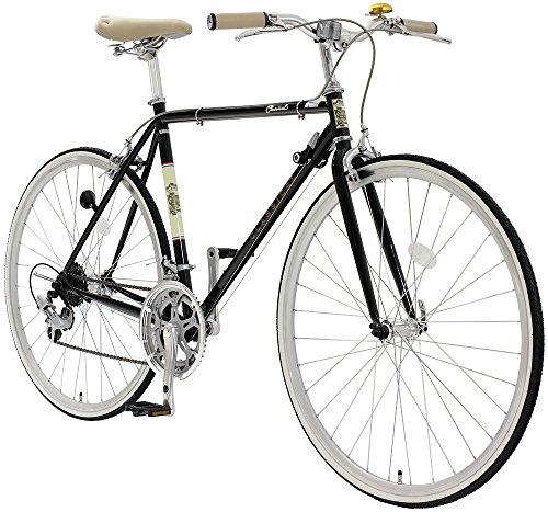 TOPONE トップワン クロスバイク 700c シマノ14段変速ギア CLASSICAL YCR7014-4D-540-BK ブラック フレームサイズ:540mm