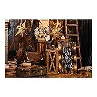 casualcatch クリスマステーマ 撮影 背景布 写真用 クリスマス背景紙 自宅用 商業用 布バック 雰囲気満点 1.5 * 0.9m 3#