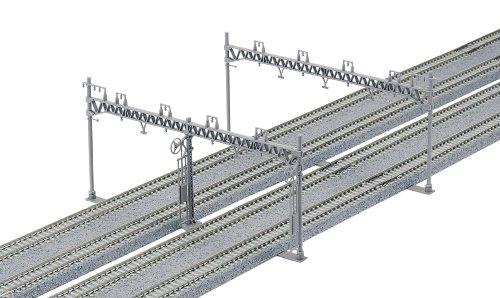 Nゲージ 23-064 4線式ワイド架線柱 (10本入)
