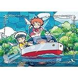 208ピース ジグソーパズル スタジオジブリ作品 ポンポン船が行く(18.2x25.7cm)