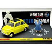 brumm 1/43 Fiat 500 Lupin III WANTED GOEMON 完成品