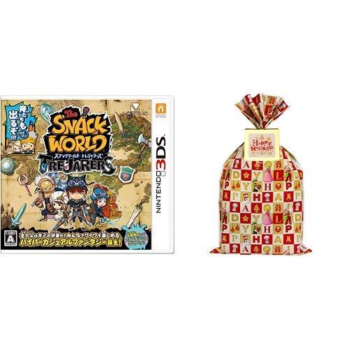 スナックワールド トレジャラーズ プレゼント用ギフトラッピングセット(マリオver.) - 3DS