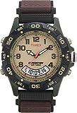 [タイメックス]TIMEX 腕時計 エクスペディション コンボ ブラウン文字盤 ブラウンナイロンストラップ T45181 メンズ [正規輸入品]