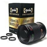 Opteka 500〜1000ミリメートルの高精細ミラー望遠レンズ for SONY デジタル一眼レフ用 【国内正規品】