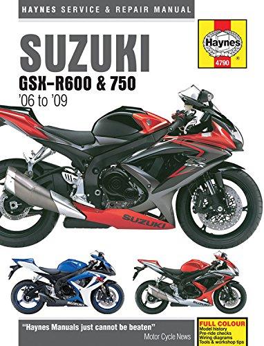 Suzuki GSX-R600 & 750 '06 to '09 (Haynes Service & Repair Manual)