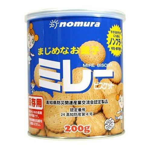野村煎豆加工店 保存用 ミレービスケット ×5セット