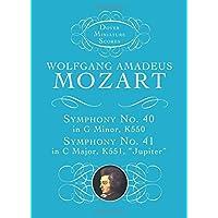 Symphonies Nos. 40 & 41 (Dover Miniature Music Scores)