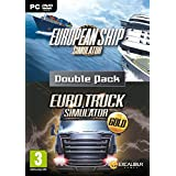 Euro Simulations Double Pack - European Ship Simulator and Euro Truck Gold (PC DVD) (輸入版)