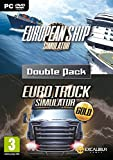 Euro Simulations Double Pack - European Ship Simulator and Truck Gold (PC DVD) (輸入版) Excalibur Publishing