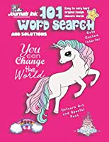 101 Word Search for Kids: SUPER KIDZ Book. Children - Ages 4-8 (US Edition). Change the World, Pink Unicorn Words with custom art interior. 101 Puzzles with solutions - Easy to Hard Vocabulary Words -Unique challenges and learning for fun activity time! (Superkidz - Unicorn Word Search for Kids)