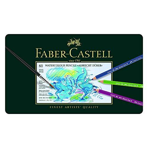 ファーバーカステル アルブレヒトデューラー水彩色鉛筆 60色セット