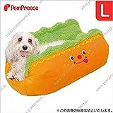 ノーブランド品 ホットドッグ(ベッド)カドラー L (ペット用 中型犬 カドラー ベッド)
