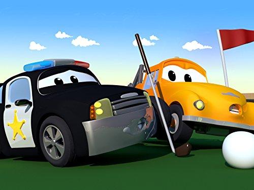 パトカーのマットのゴルフボールがペニーに衝突! & コンクリートミキサー車のクリストファーのエンジンが破裂!