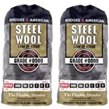 Homax Products #0000 Finish Steel Wool Pad 12 Per Package TV713206