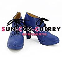 【サイズ選択可】コスプレ靴 ブーツ K-2390 新世紀GPXサイバーフォーミュラ SIN版 菅生あすか 男性26CM