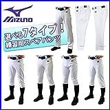 ミズノ mizuno ユニフォームパンツ 練習用 野球用 練習着 スペアパンツ ショートフィット/12JD6F6701 O