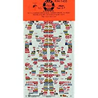 Slixx Decals 1:24 1:25 '99 Grouped Contingencies NASCAR ファニーカー #P/N-1435