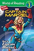 World of Reading This is Captain Marvel (Level 1)