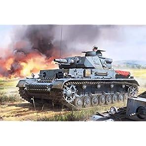 ボーダーモデル 1/35 WW.II ドイツ軍 IV号戦車 Ausf.F1 (3 IN1) プラモデル