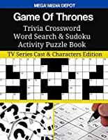 Game of Thrones Trivia Crossword Word Search & Sudoku Activity Puzzle Book