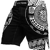 Sport Shorts For Men Hardcore Training Ta Moko Black - 男性のためのショートパンツ (xxl)