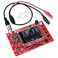 DSO138 2.4インチTFTデジタルオシロスコープ1Mspsリアルタイムサンプリングレート組み立て溶接/ DIY部品キット/アクリル