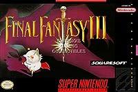 "CGC Hugeポスター–ファイナルファンタジーIII VI Super Nintendo SNESボックスアート–fne005 24"" x 36"""